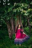 Portret piękny dziewczyny gypsy Zdjęcie Royalty Free