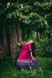 Portret piękny dziewczyny gypsy Zdjęcie Stock