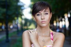 Portret piękny model fotografia stock