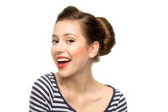 Portret piękna młoda kobieta Zdjęcia Royalty Free