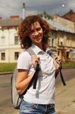portret plenerowego pretty woman Zdjęcia Royalty Free