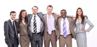 Portret pomyślna biznes drużyna Zdjęcie Stock