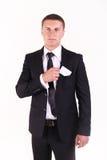 Portret pomyślny biznesmen Obraz Royalty Free