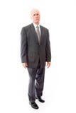 Portret poważny biznesmen zdjęcie stock