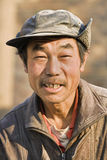 Portret pracownik migrujący w Pekin, Chiny Zdjęcie Royalty Free