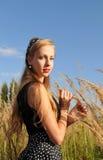 portret pretty woman Fotografia Stock