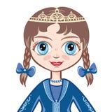Portret princess avatars Fotografia Royalty Free