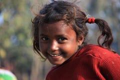 Portret prożniaczy dzieciak troszkę bezdomny dzieciak Fotografia Royalty Free
