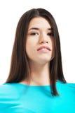 Portret przypadkowa młoda kobieta. obrazy stock