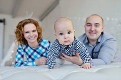 Portret rodzina Zdjęcia Stock