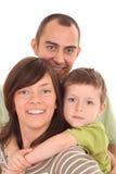 portret rodzinny Obraz Stock