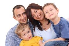 portret rodzinny Fotografia Stock