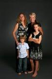 portret rodzinny Zdjęcie Royalty Free