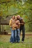 Portret rodzinny relaksować Obraz Stock