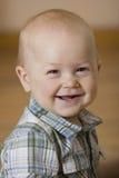 Portret rozochocona chłopiec Fotografia Stock