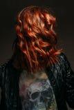 Portret rudzielec kobieta Obrazy Royalty Free