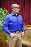 Portret sławna amerykańska końska instruktor legenda Monty Roberts Zdjęcia Royalty Free