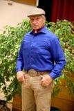 Portret sławna amerykańska końska instruktor legenda Monty Roberts Zdjęcie Royalty Free