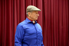 Portret sławny amerykański koński instruktor legendy Monty Ro Obrazy Stock