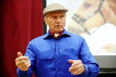 Portret sławny amerykański koński instruktor legendy Monty Ro Obrazy Royalty Free