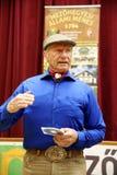Portret sławny amerykański koński instruktor legendy Monty Ro Obraz Royalty Free