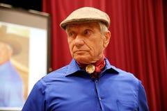 Portret sławny amerykański koński instruktor legendy Monty Ro Fotografia Royalty Free