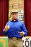 Portret sławny amerykański koński instruktor legendy Monty Ro Zdjęcia Royalty Free