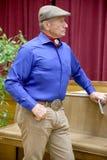 Portret sławny amerykański koński instruktor legendy Monty Ro Zdjęcie Stock