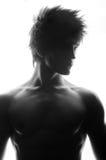 Portret samiec model obraz royalty free