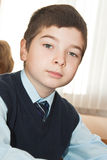Portret of schoolboy Stock Photography