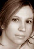 portret sepiowy zdjęcia royalty free
