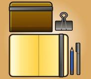 Portret Sketchbook Stock Afbeeldingen