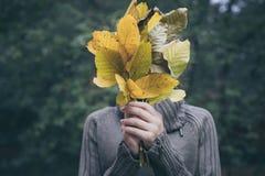 Portret smutna nastolatek dziewczyna Zdjęcia Stock