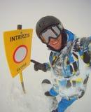 Krańcowy snowboarder Fotografia Stock