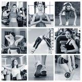 Portret sporty kobiety obrazy royalty free