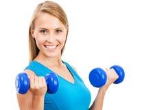 Portret sprawności fizycznej kobieta obraz stock