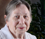 portret starsza kobieta s Zdjęcie Stock