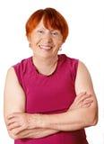 portret starsze kobiety Zdjęcia Royalty Free