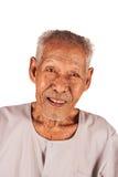 Portret starszej osoby E uśmiech i szczęśliwy zdjęcie royalty free
