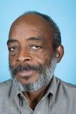 Portret starszy dorosły mężczyzna fotografia stock