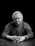 Portret starszy mężczyzna Zdjęcia Royalty Free