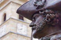Portret statua obrazy royalty free
