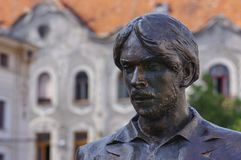Portret statua w Oradea obrazy royalty free