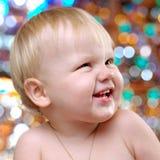 Portret szczęśliwa berbeć chłopiec Zdjęcia Royalty Free