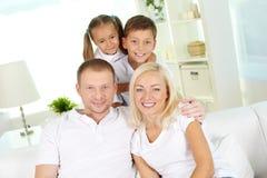 Domowy odpoczynek fotografia stock