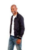 Portret szczęśliwy Afrykański mężczyzna fotografia stock