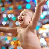 Portret szczęśliwy dziecko Fotografia Stock