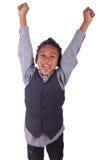 Portret szczęśliwy radosny Zdjęcie Stock