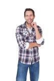 Portret szczęśliwy wieka średniego mężczyzna obraz stock