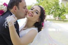 Portret szczęśliwa para małżeńska Obraz Royalty Free